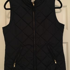 Navy Crown & Ivy Vest